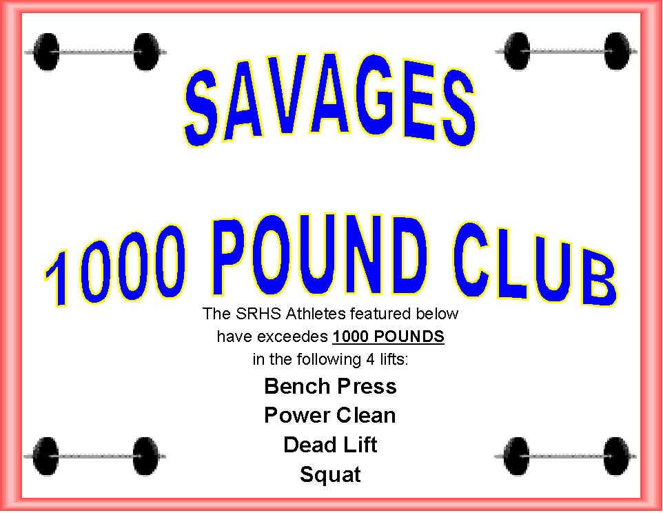 400 Lb Bench Press Club Part - 25: Coachfred, Savage 1000 Pound Club